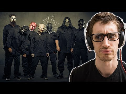 """😱 FIRST TIME reacting to a REAL Slipknot song 