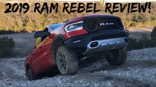 Watch out Ford Raptor! The 2019 Ram 1500 Rebel is VERY, VERY GOOD!