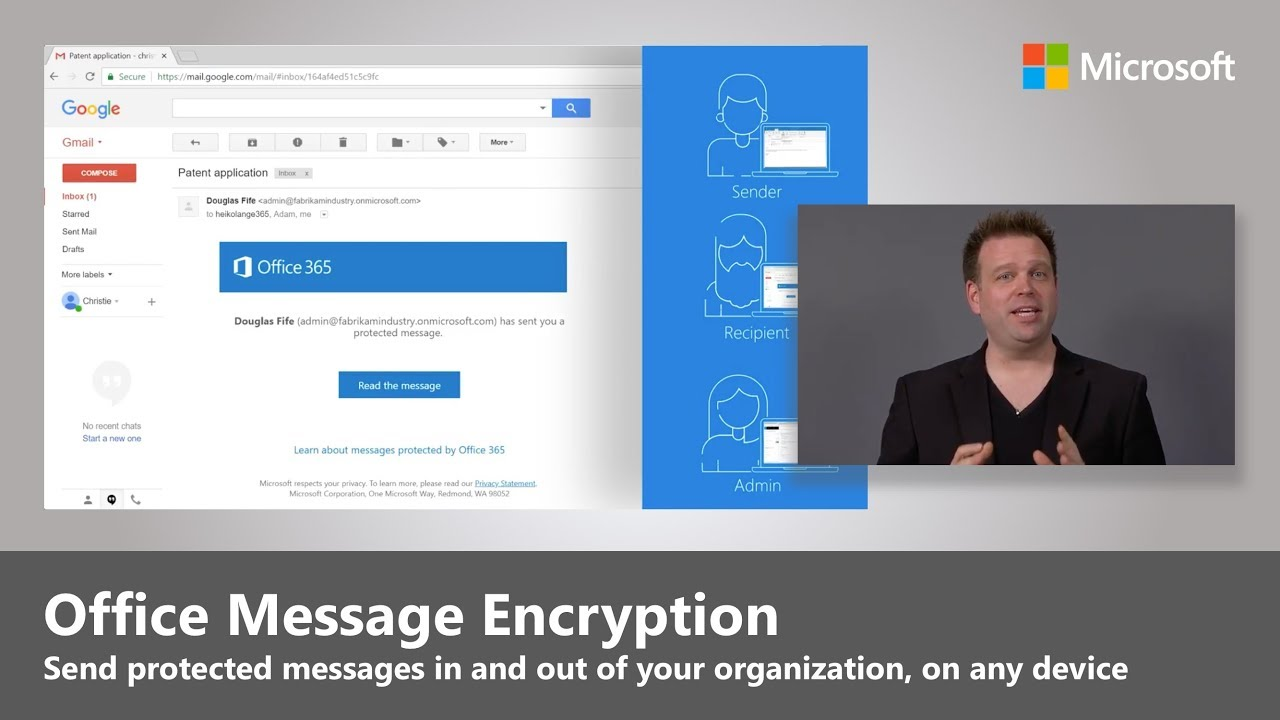 Office 365 Essentials: Office Message Encryption