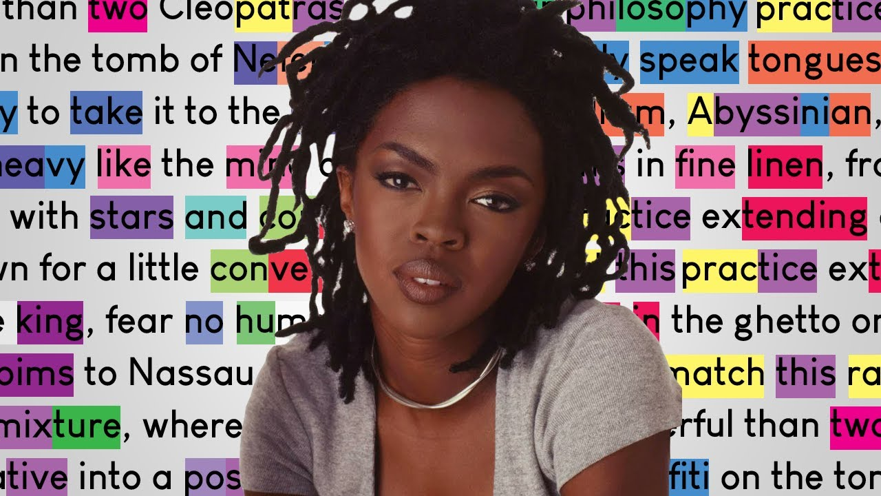 Lauryn Hill - Everything Is Everything | Rhymes Highlighted