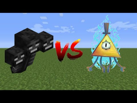 Minecraft | Wither Vs Bill Cipher