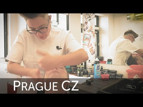 Barberette Prague - No Blade Shaving and Face Massage Experience