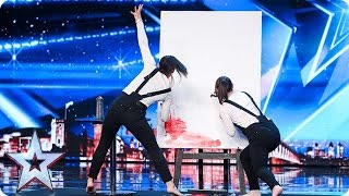 Strokes of Madness need a stroke of luck | Auditions Week 1 | Britain's Got Talent 2017