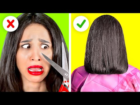 GET A NEW LOOK IN 5 MINUTES OR LESS    Girly Hacks And Tips You Need To Try