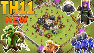 Best th11 farming base for de protection / clash of clan
