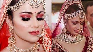 INDIAN BRIDAL Makeup Tutorial YUVIKA CHAUDHARY Inspired Glowing Modern Look In Hindi