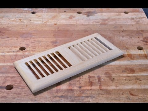 Make a Floor Vent with a Glue Joint Bit