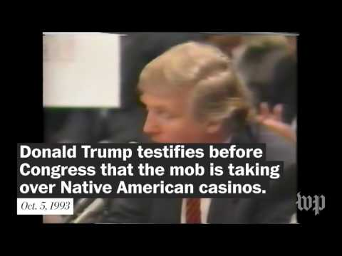 *** 🇺🇸 DONALD TRUMP'S VIEWS ON INDIAN MOB LIKE CASINOS