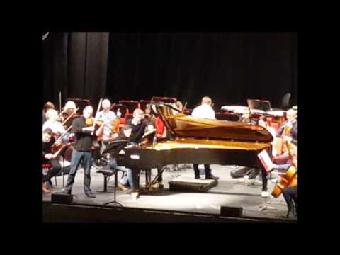Min-Jung KYM   Mendelssohn double concerto for piano and violin 1st mvt