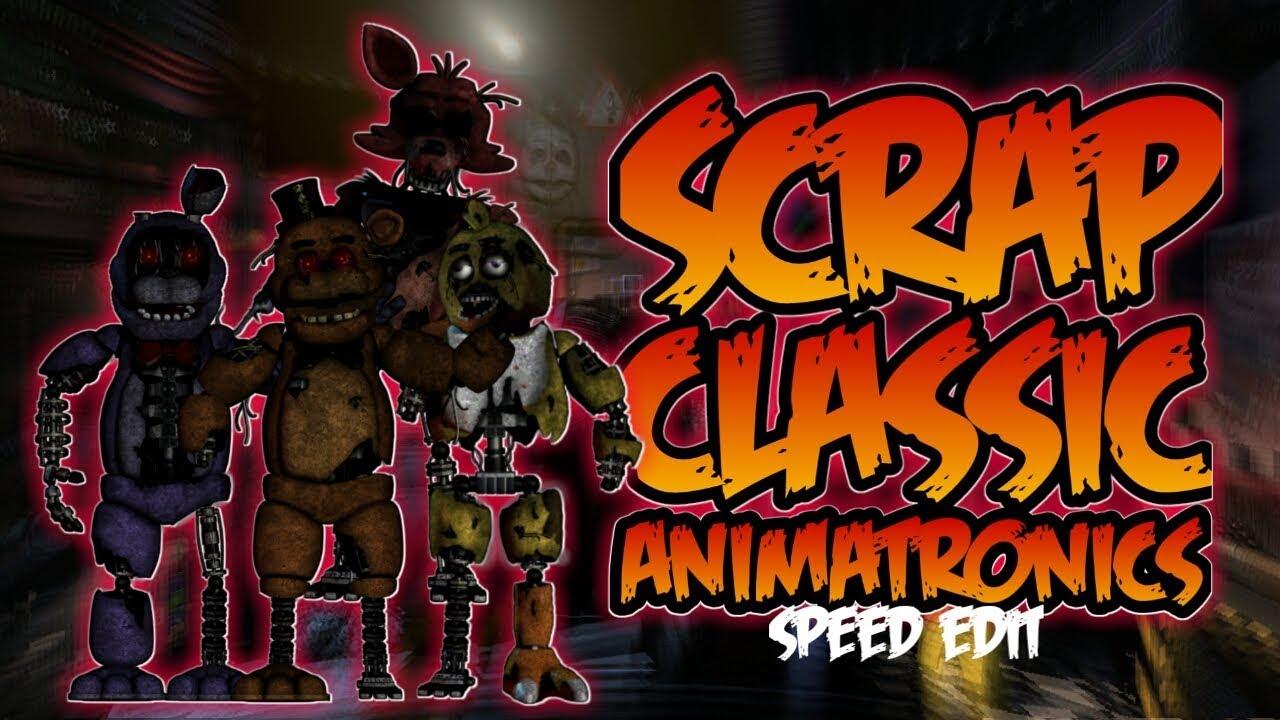 speed edit animatronics - cinemapichollu