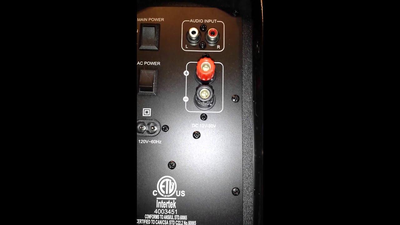 Polaroid wireless tailgate speaker