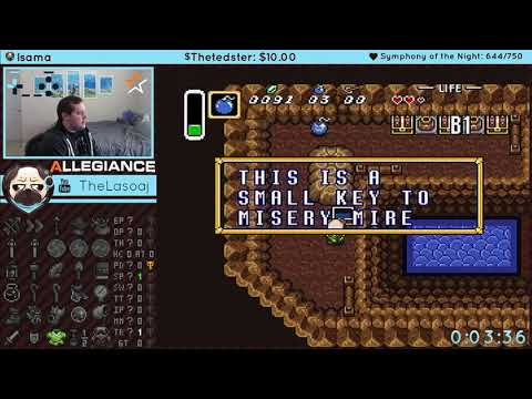 A Link to the Past   Keysanity Race, last prep before tournament match
