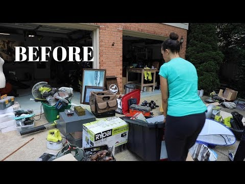 BEFORE and AFTER: My Messy Garage Clean-Out! – Thrift Diving