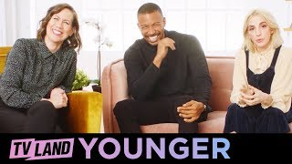 Cast of Younger Answer Fan Questions (Part 1) | TV Land
