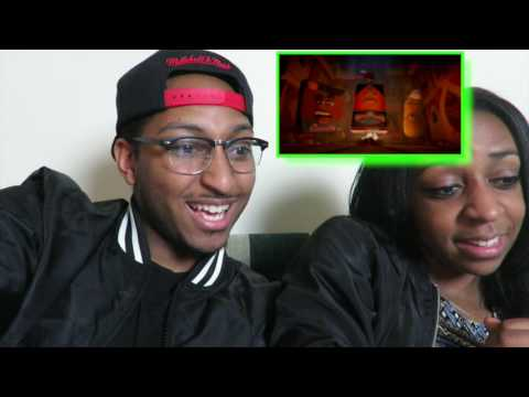 Couple Reacts 2.0 : Sausage Party Official Red Band Trailer #2 (2016) - James Franco Movie