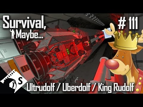 Survival, Maybe... #111 Ultrudolf Delivery (A Space Engineers Survival Series)