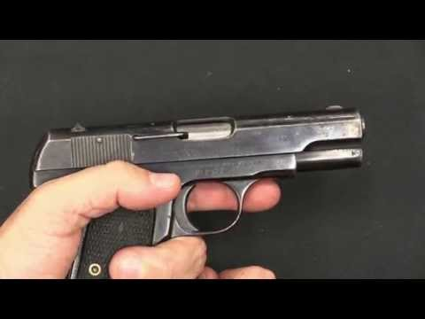 Shanghai Municipal Police Colt 1908