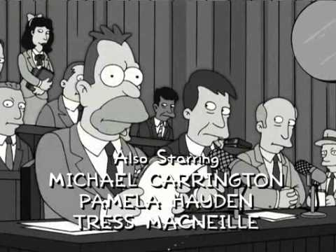 Young Abe Simpson Names Names