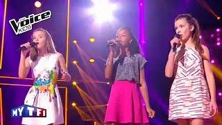 The Voice Kids 2016   Lauviah - Tamilia - Jeanne sur ''FiveFourSeconds''   Battle