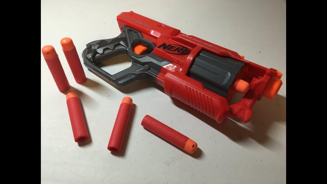 NEW Mega Nerf Rival Gun N-Strike CycloneShock Elite Mega Blaster Gun