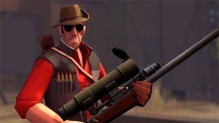 Team Fortress 2 игра за снайпера.