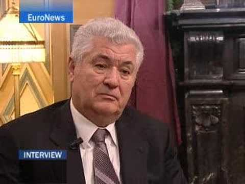 EuroNews - Interview - Vladimir Voronin
