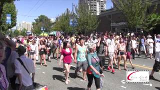 Close Look TV Show at the Vancouver Pride Parade 2014-www.closelook.ca
