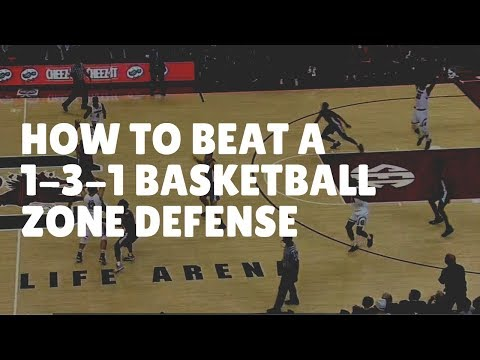 How To Beat A 1-3-1 Basketball Zone Defense