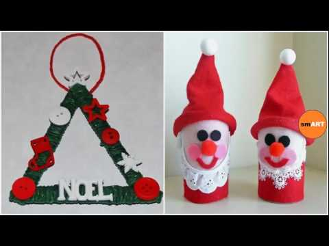 Easy Christmas Crafts For Kids To Make Santa Crafts For Kids Youtube