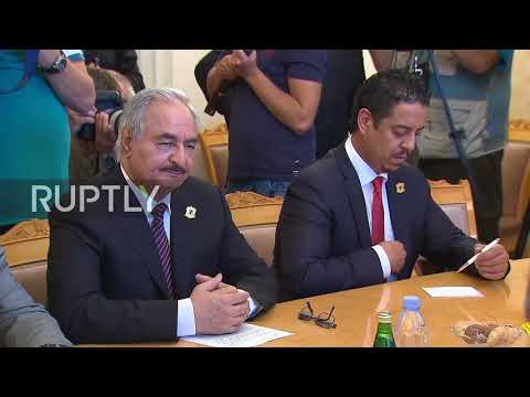 Russia: Moscow supports full-scale restoration Libya's statehood - Lavrov during Haftar meeting