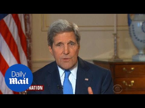 John Kerry on negotiations over Iran nuclear deal - Daily Mail