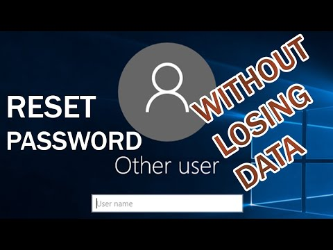 How To Remove Windows 10 Password Without Losing Data - Bypass Win10 Password