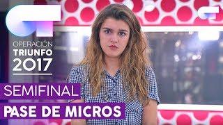 TE RECUERDO AMANDA - Amaia   Primer pase de micros para la SEMIFINAL   OT 2017