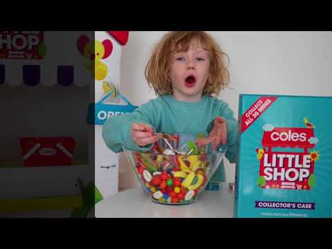Coles Little Shop toy review and blind bag reveals