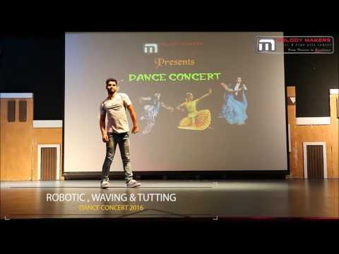 Robotic , Waving & Tutting