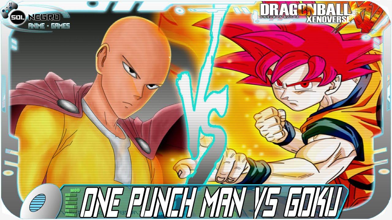 One Punch Man ( Saitama ) Vs Goku Super Saiyan God ...