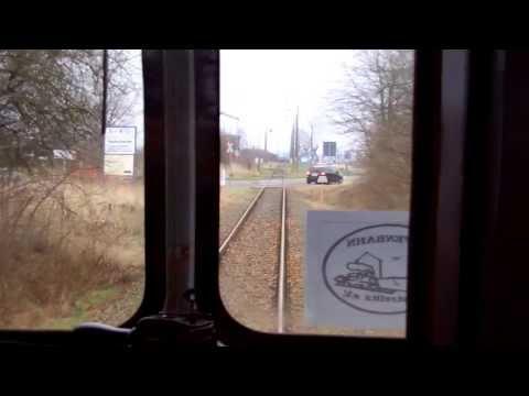 Wiedereröffnung der Bahnstrecke Greifswald Hbf - Ladebow 15.01.2014