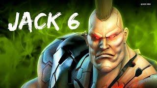 Tekken 6 [ Jack - 6 ] - Arcade Battle -