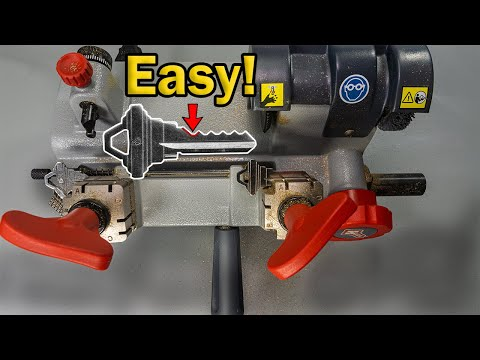 How To Code Cut a Key with a Key Duplicator