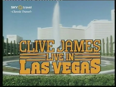 Clive James in Las Vegas