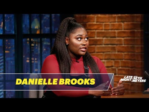 Danielle Brooks Reveals the Nickname She Gave Herself as a Teenager