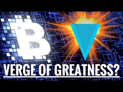 Verge of Greatness? (XVG)