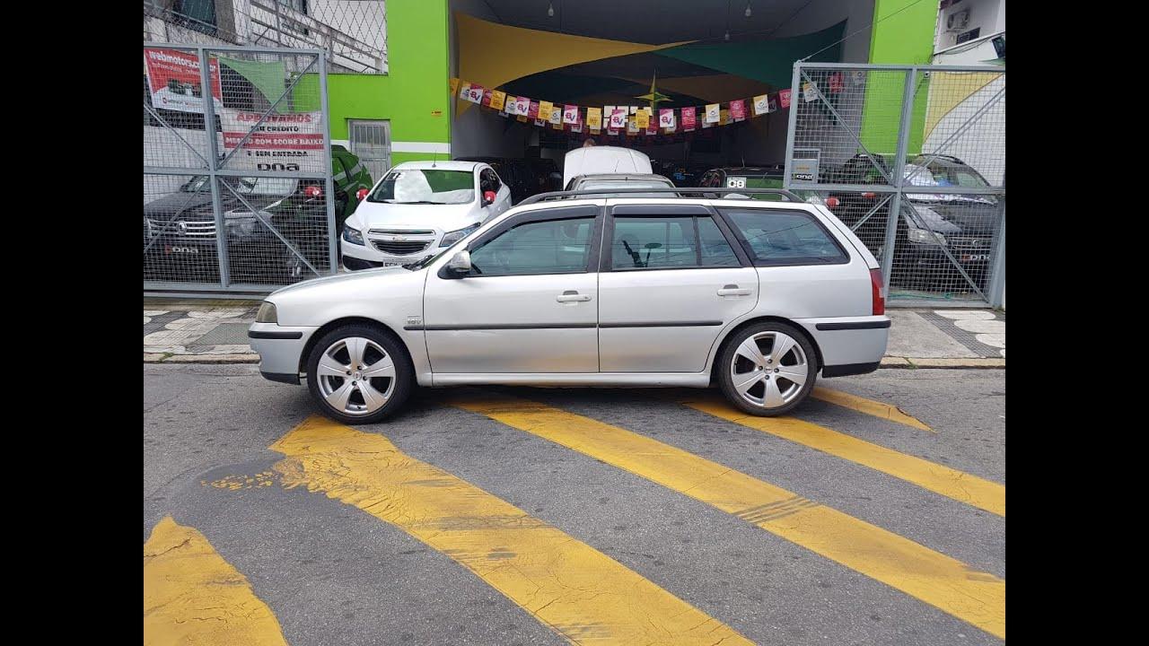 VW/PARATI 1.0 16 V TURBO 2001 TEM SCORE BAIXO LIGA AGORA