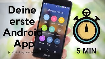 Deine erste Android App in 5 Minuten - App Programmieren