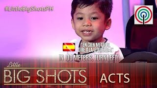 Little Big Shots Philippines: Sean | 3-year-old Street Smart Kid
