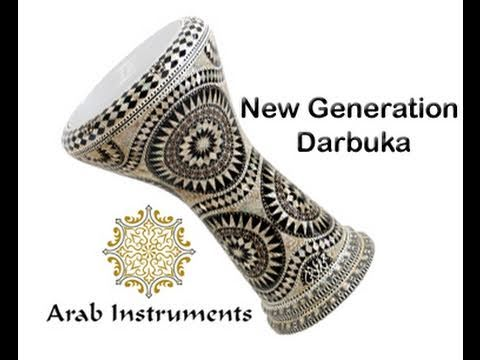 Amazing Mother of pearl darbuka. The best sound that you can get from your darbuka