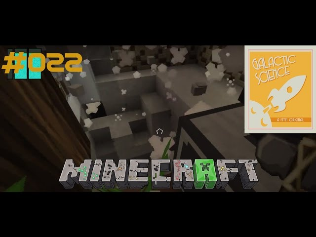 Let's Play Minecraft Galactic Science | Explosion an der Baumfarm | Folge #022