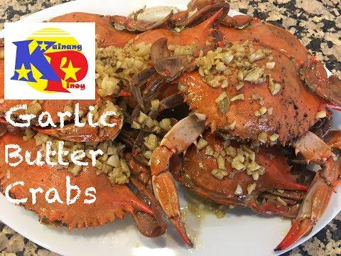 Garlic Butter Crabs - Mga Alimasag Na Up For Grabs :)