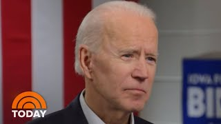 Joe Biden: 'I'm The Only One With Broad Support' | TODAY
