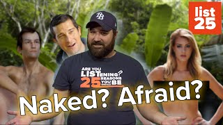 Naked and Afraid in the Jungle - How You Can Survive? (List25)